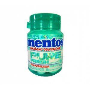 Goma de mascar Mentos Pure Fresh Wintergreen 56g.