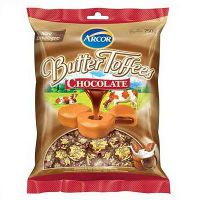 Bala butter toffee chocolate Arcor 500g