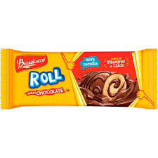 Mini rocambole de chocolate Roll Cake Bauducco 38g.