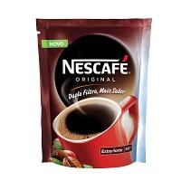 Café solúvel Nescafé Original Extra Forte sachê 50g.