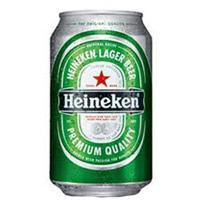 Cerveja Heineken lata 350ml.
