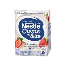Creme de leite original Nestlé 200g.