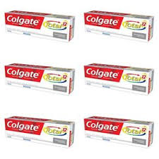 Creme dental Colgate Total 12 Clean Mint (pack c/ 6 unid. 90g.)