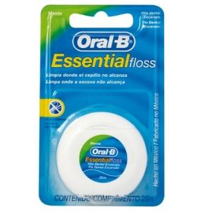 Fio dental Oral B Essential Floss 25 mts.