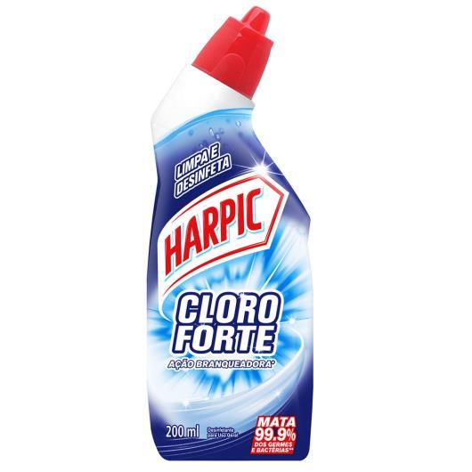 Desinfetante Harpic cloro forte 200ml.
