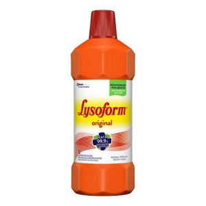 Desinfetante Lysoform amoníaco bruto 1lt