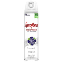 Desinfetante Lysoform bactericida aerossol  360ml