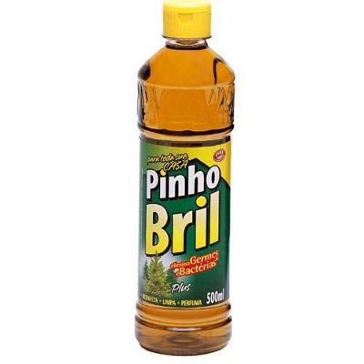 Desinfetante Pinho Bril plus silvestre 500ml.