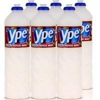 Detergente liquido coco Ypê 500ml. (pacote c/ 6 unidades)