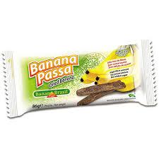 Banana passa Brasil 86g.