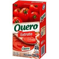 Extrato de tomate Quero tetra pak 1,08kg