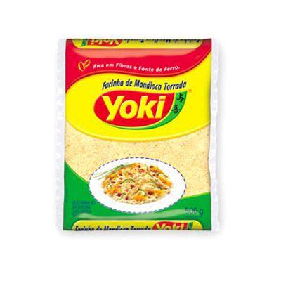 Farinha de mandioca Yoki 500g.