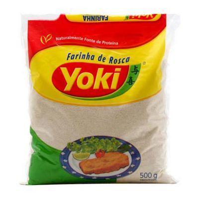 Farinha de rosca Yoki 500g.