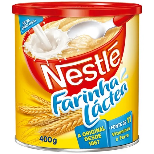 Farinha lactea Nestlé 400g
