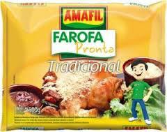 Farofa de mandioca pronta tradicional Amafil 500g