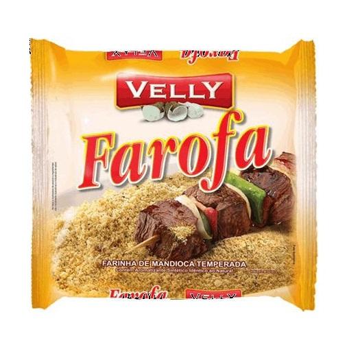 Farofa temperada Velly 300g.