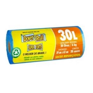 Saco para lixo Dover Roll Super Forte 30lts./6kg. (20 unidades)