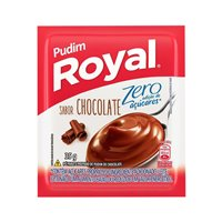 Pudim de chocolate zero açucar Royal 35g.