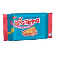 Mini wafer Passatempo morango 20g
