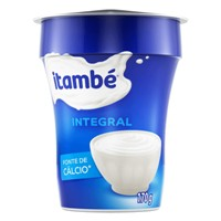 Iogurte integral Itambé170g.