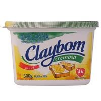 Margarina cremosa com sal Claybom 500g.