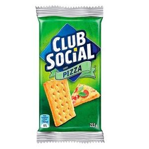 Biscoito Club Social sabor pizza 141g