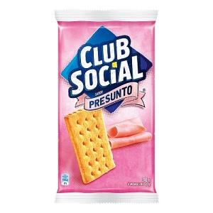 Biscoito Club Social sabor presunto 141g