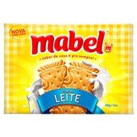 Biscoito de leite Mabel 400g.