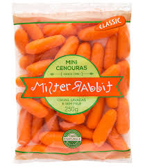 Cenoura baby 250g