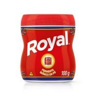 Fermento em pó Royal 100g.