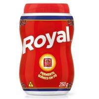 Fermento em pó Royal 250g.