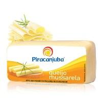 Mussarela Piracanjuba peça inteira 4 kg.