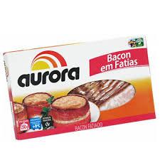 Bacon fatiado marcas variadas 200g