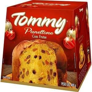 Panettone Tommy tradicional 400g