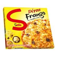 Pizza frango com requeijão e mussarela Sadia 460g.