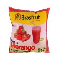 Polpa de morango Brasfrut 100g