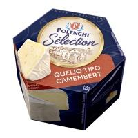 Queijo tipo Camembert Polenghi 125g.