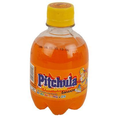 Refrigerante Pitchula laranja