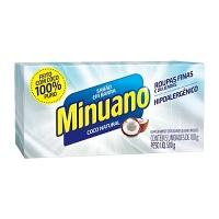 Sabão em barra puro coco Minuano 500g