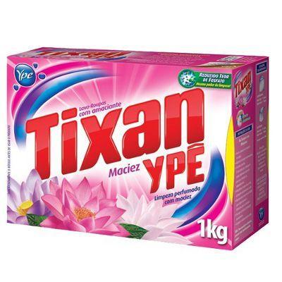 sabão em pó Tixan Ypê maciez 1kg.