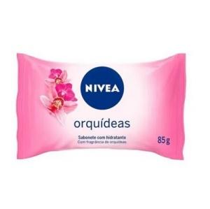 Sabonete hidratante Nivea Orquídeas 85g