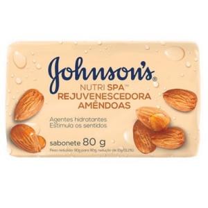 Sabonete Johnson's Nutri Spa amêndoas 80g