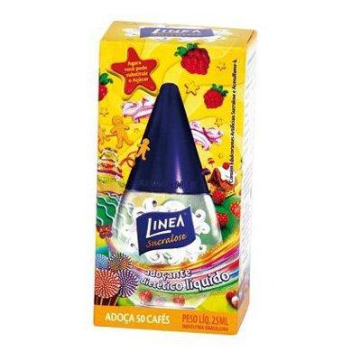 Adoçante líquido sucralose Linea 75ml.