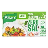Caldo de legumes Zero Sal Knorr 48g