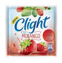 Refresco em pó  Clight morango 8g.