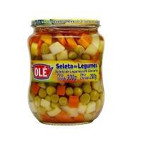Seleta de legumes Olé vidro 200g