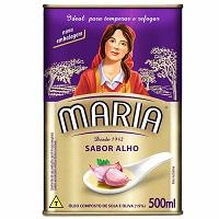Óleo composto sabor alho Maria 500ml