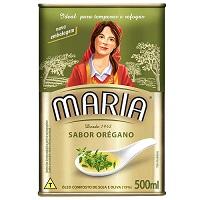 Óleo composto sabor orégano Maria 500ml.
