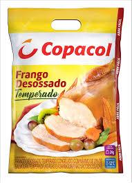 Frango temperado desossado Copacol 2,5kg