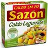 Caldo em pó legumes  Sazon 37g